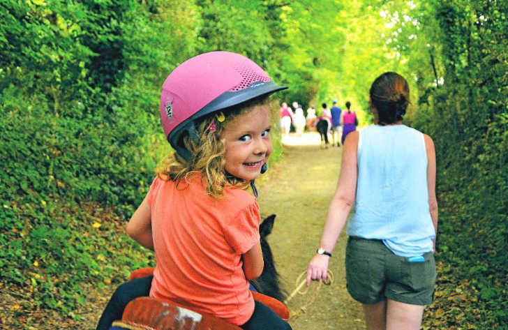 La Garangeoire Horse Riding Girl
