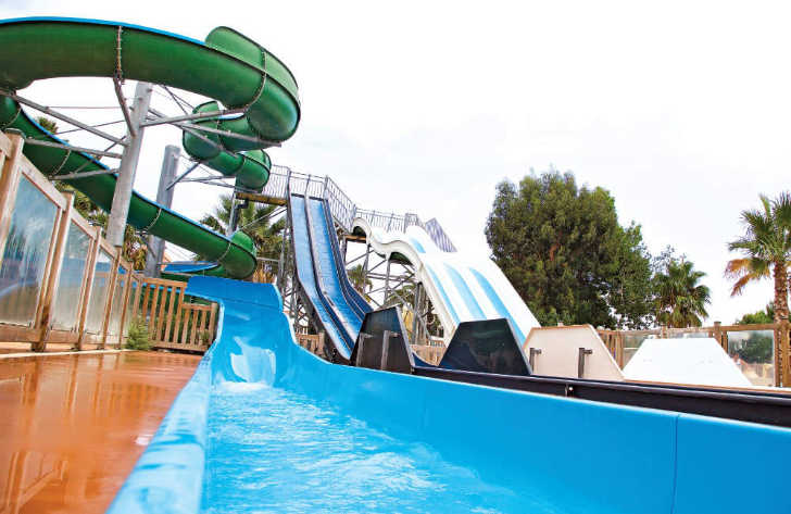 La Palmeraie Pool Slide