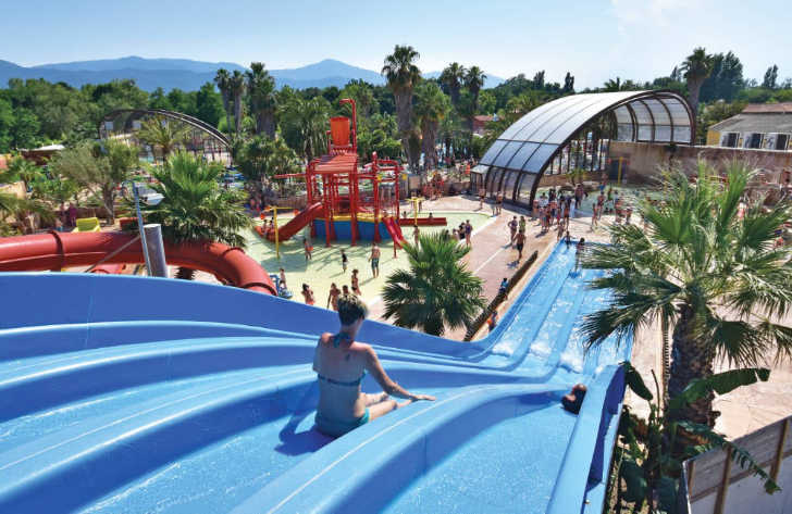 La Sirene Pool Waterslides