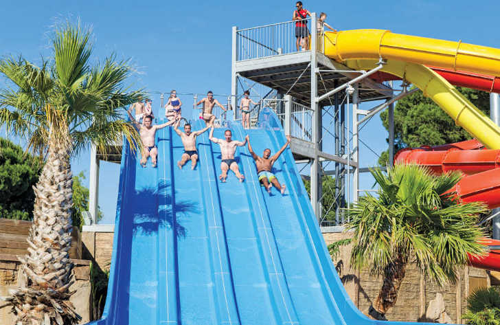La Sirene Waterslide Fun
