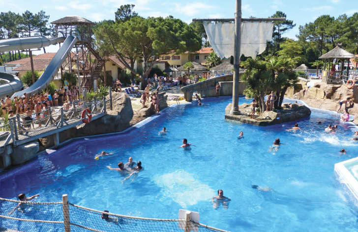 Le Vieux Port Pool Pirate Ship