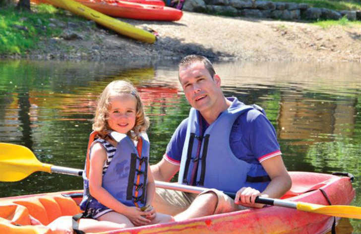 Les Ranchisses Family Fun Canoeing