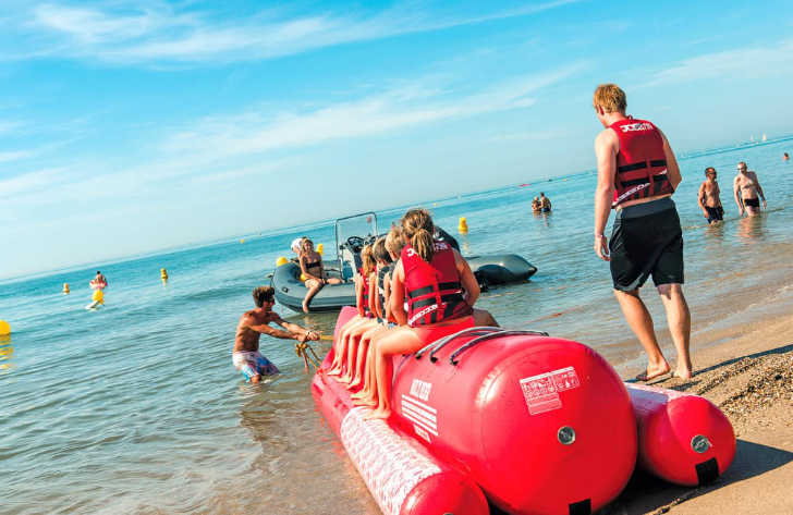 Les Sablons Beach Inflatable Ride