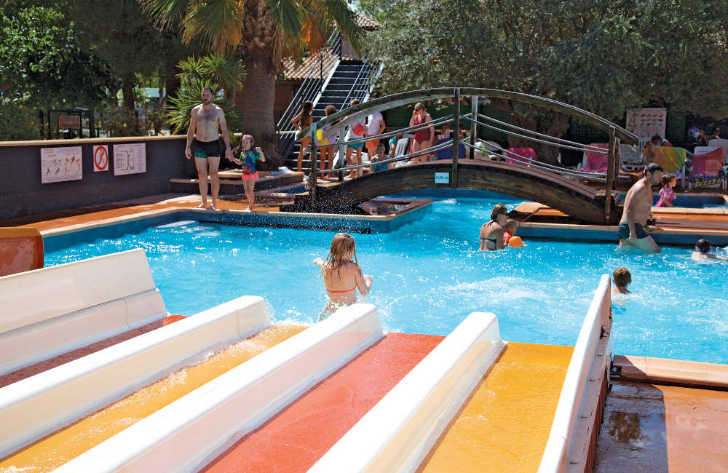 Les Sablons Pool Slides