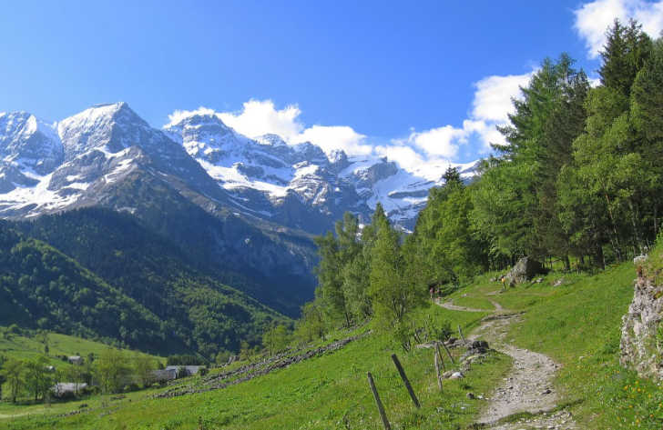 Campsites in Pyrenees, France
