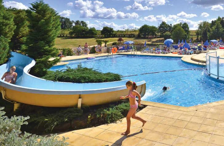 Saint Avit Loisirs Family Pool Area