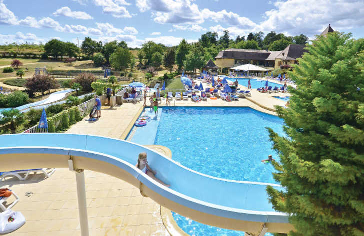 Saint Avit Loisirs Pool Complex
