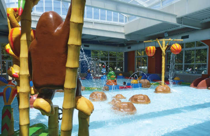 Sylvamar Indoor Pool Area