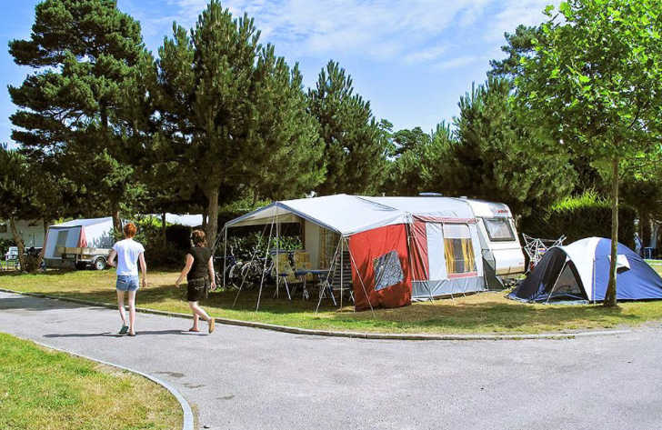 Yelloh Village les Pins Campsite Pitch