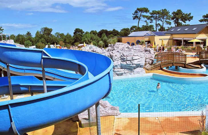 Yelloh Village les Pins Swimming Pool Slide